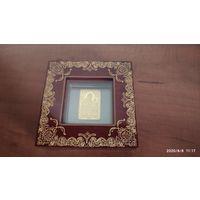 Барколабовская Икона Пресвятой Богородицы, 1000 рублей, 2012, золото. Тираж 200 шт.