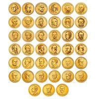 Альбом 1 доллар президенты США