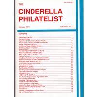 Журнал Cinderella Philatelist Великобритания январь 2011 А4 формат 48 страниц лот РАСПРОДАЖА