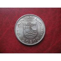 20 эскудо 1972 год Ангола (СОСТОЯНИЕ!!!) ОЧЕНЬ РЕДКАЯ!!!