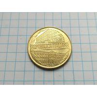 200 лир 1996 Италия ( 100 лет Академии таможенной службы )