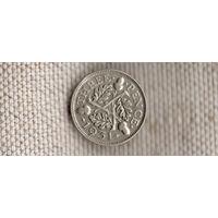 Великобритания 3 пенса 1931 Георг VI (Sp)