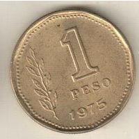 Аргентина 1 песо 1975