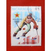 Никарагуа. Спорт. ( 1 марка ) 1984 года.