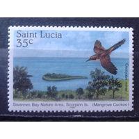 Сент-Люсия 1985 Природа, птица**