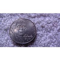 """Коллекция = США ,5 центов """"Томас Джефферсон"""", 2013 D.Серия пятицентовых монет, посвященных 200-летию освоения Запада (Westward Journey Nickel Series). распродажа"""
