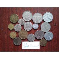 Польша 17 монет