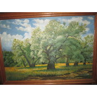 Картина пейзаж Дубовая роща.