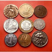 9 монеток - 9 стран. #01