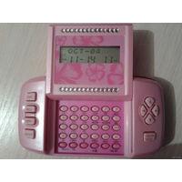 Органайзер - пейджер - часы - будильник - калькулятор и т.д....