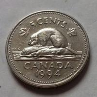 5 центов, Канада 1994 г.