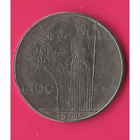 13-31 Италия, 100 лир 1978 г.