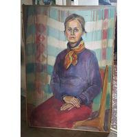 """""""Портрет женщины"""", примерно 110х80 см, холст, масло"""