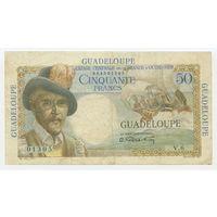 Гваделупа (Guadeloupe) P34 50 Francs