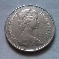 10 пенсов, Великобритания 1968 г.