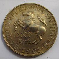 Германия, Вестфалия, 10000 марок, 1923