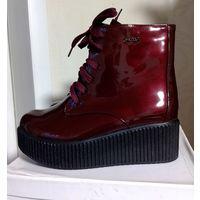 Женские ботиночки деми, новые, р-р 37-38, цена снижена
