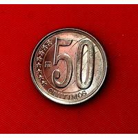 50-24 Венесуэла, 50 сентимо 2012 г.