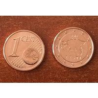 Эстония, 1 евроцент 2015