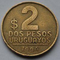 Уругвай, 2 песо 1994 г