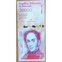 20000 боливаров 2016 года (18.08.2016) - Венесуэла - UNC