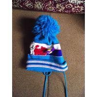 Шапка двойная с шарфом (Польша)