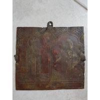 Церковная табличка со Святыми