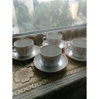 Чайные пары, деколь, 1990 г, Вербилки.