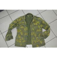 Оригинальная погранцовая куртка из 70-х. Полнейший оригинал.Полностью пригодна к носке.  Всё по родне. Размер 48-50-2.  Будет идеальна на 172 не больше.