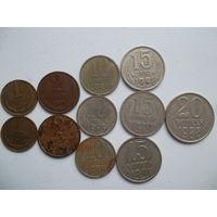 Монеты СССР-набор2