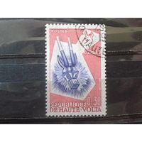 Верхняя Вольта 1960 Маска антилопы