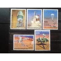 ЦАР 1976 Викинг, полет на Марс Полная серия Михель-3,0 евро гаш