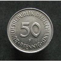 ФРГ 50 пфеннигов 1992 F
