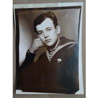 Фото моряка. 9х12 см.
