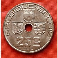 16-05 Бельгия, 25 сантимов 1939 г. Французский тип