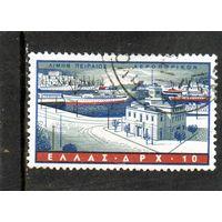 Греция.Ми-674.Корабли.Порт Пирей. Серия: Греческий флот.1958.