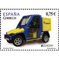 Испания 2013 г. Европа Септ MNH** автомобиль (И)
