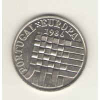 25 эскудо 1986 г. Вступление в зону свободной торговли Европы.