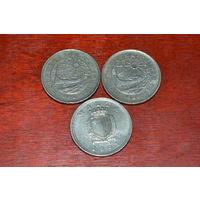 Мальта 10 центов (86 и 91)