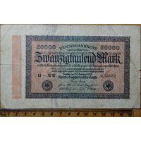 20000 марок 1923г. Берлин