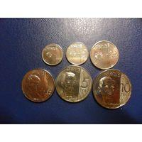 Филиппины 6 монет одним лотом (4 монеты 2018 г.+2 монеты 2017 г.)