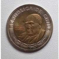 Чили 500 песо, 2001 6-2-23