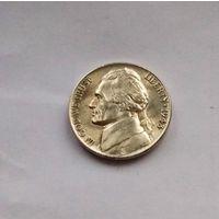 США, 5 центов 1943 P (War Nickel) - серебро AU/UNC