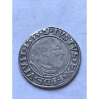 Грош  1533 г. - с 1 рубля.