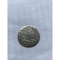 3 гроша 1592г