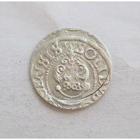 Шиллинг 1636 Рига Кристина Августа Ваза Прибалтийские владения Швеции