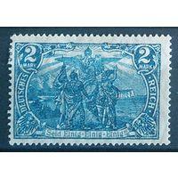"""Германия Стандарт Wz 1 """"Север и Юг"""" 2 М (*) 1915-1919 гг"""