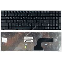 Клавиатура для ноутбука Asus K52 N61Jq F90 N90 UL50 K53 черная RU