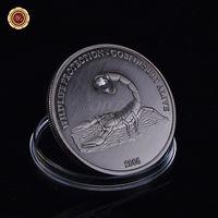 Монголия 500 тугриков 2005г. Скорпион. стразы. распродажа