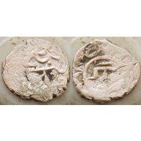 Крымское ханство акче Менгли Гирея 1-го. нерегулярный чекан 849-920 г.х. (1445-1515 г.р.х. )